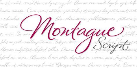 the script download montague script font kreativ