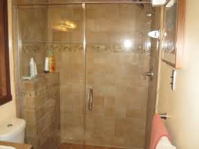 tile showers with glass doors 30 ideas of glass tile backsplash bathroom pictures