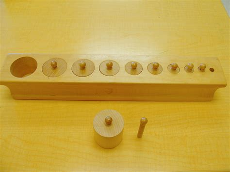 Knobbed Cylinder by File Knobbed Cylinders Jpg Montessori Album