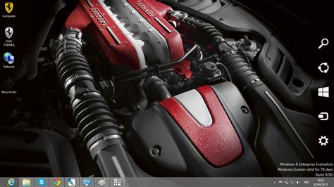 themes engine ferrari car engine theme for windows 7 and 8 ouo themes