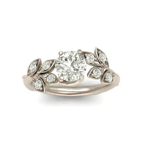 Wedding Rings Leaves by Best 25 White Gold Rings Ideas On