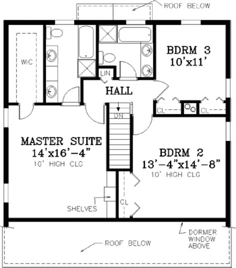 second story floor plans marshfield cape cod home plan 089d 0099 house plans and more