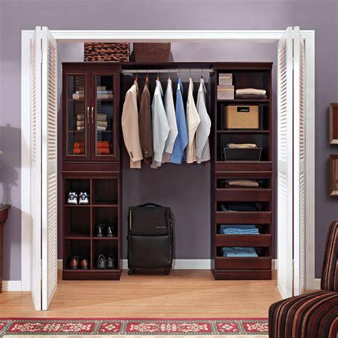 whalen storage closet organization system   ideal