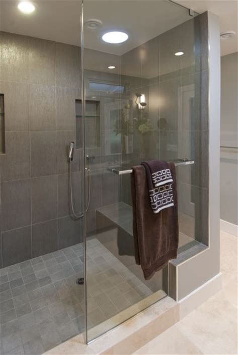 Bathroom Walls Cold How Is Glass Shower Panel Attached To The Curb Mini Wall