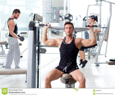 imagenes personas fitness fitness sport gym group of people training stock image