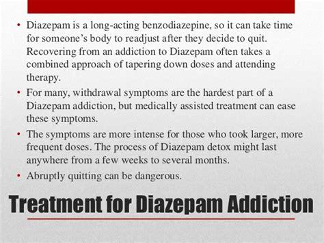 Diazepam Detox Regime by Abuse Misuse Sedative Hypnotics Benzodiazepines