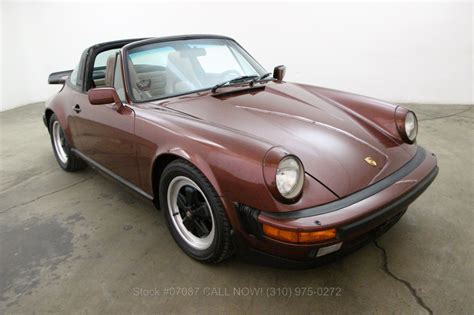 1986 porsche targa for sale 1986 porsche 911 carrera for sale 34 750 1469859