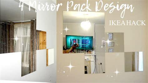 aura home design gallery mirror ikea lots 4 mirror hack home decor idea youtube