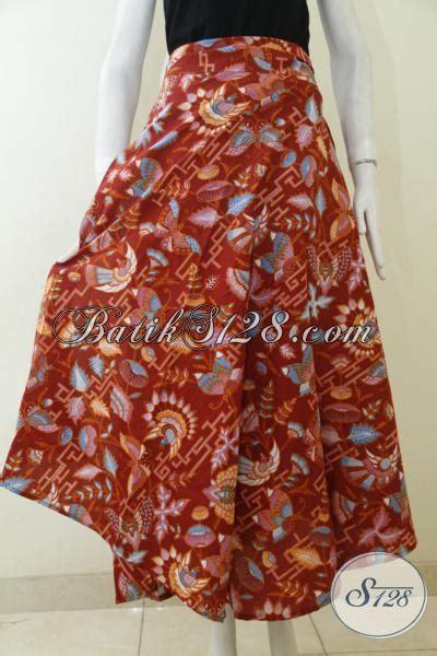 Rok Batik Katun Jarik Halus Fit Xl busana rok batik halus proses kombinasi tulis bawahan