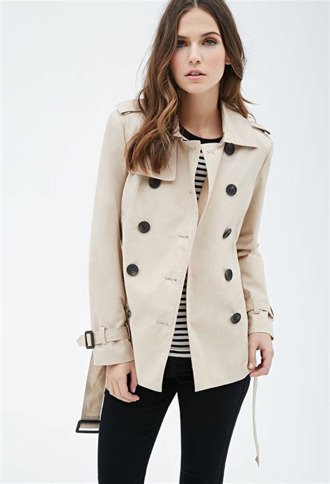 Cropped Trench Coats forever 21 cropped trench coat you ve been added to the