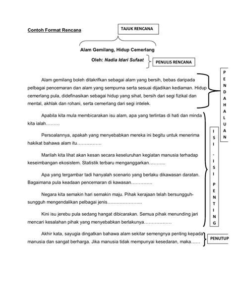 Original Digestion Keseimbangan Hidup contoh format rencana
