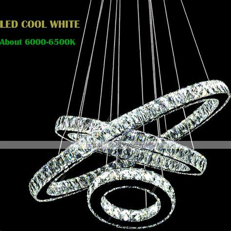 contemporary lighting modern lighting by designheure led crystal pendant lights modern lighting three rings