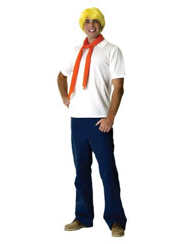 Movie costumes gt scooby doo costumes gt adult scooby doo fred costume