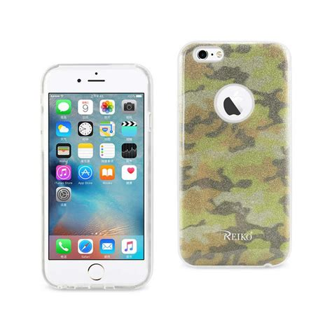 Army Iphone 6 6s Sku002095 reiko iphone 6 6s design in army yellow dtpu02 iphone6amyl the home depot