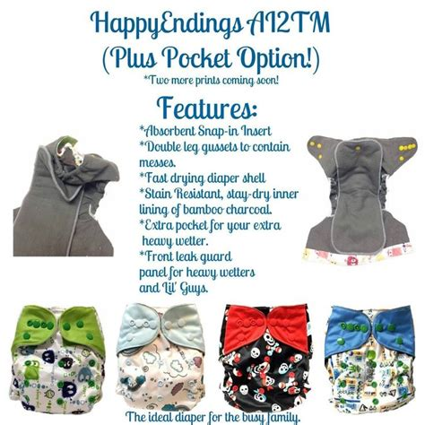 Ecobum Original Snap Minky Insert Bamboo happyendings bamboo charcoal ai2tm all in two cloth snap in insert quot