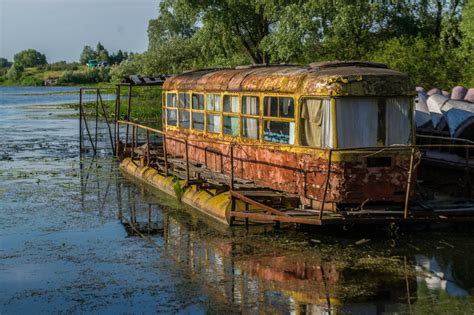 river house boat abandoned 183 ukraine travel blog