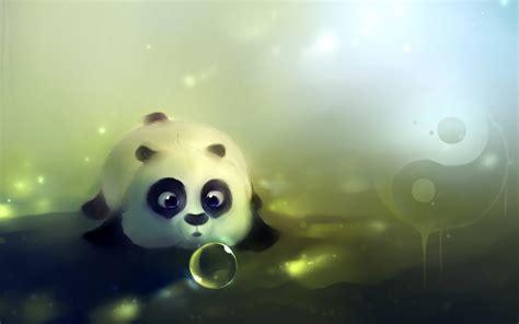 wallpaper cartoon funny cute cute panda wallpaper