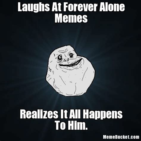 Alone Meme - pin forever alone pokes girl comic com on pinterest