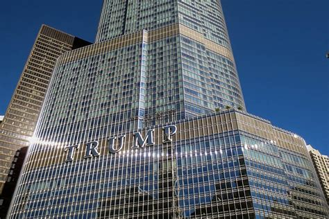 trump towers address a n blog eavesdrop gt sign of the times reflecting on
