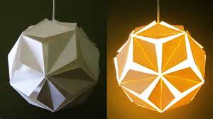 A Lantern Out Of Paper - diy pendant l lantern 5 petals home and room decor