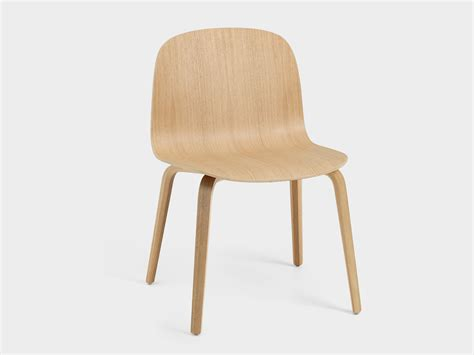 Wide Chair by Buy The Muuto Visu Wide Chair Wooden Base At Nest Co Uk