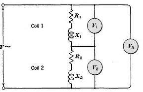 inductance of two coils in series multi part series circuit with resistance and inductance