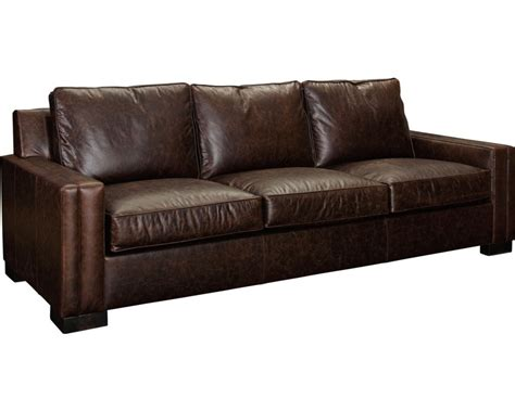 Broyhill Leather Ottoman Broyhill Leather Sofa Perspectives Leather Sofa From The Collection By Thesofa
