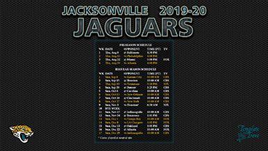 jacksonville jaguars wallpaper schedule