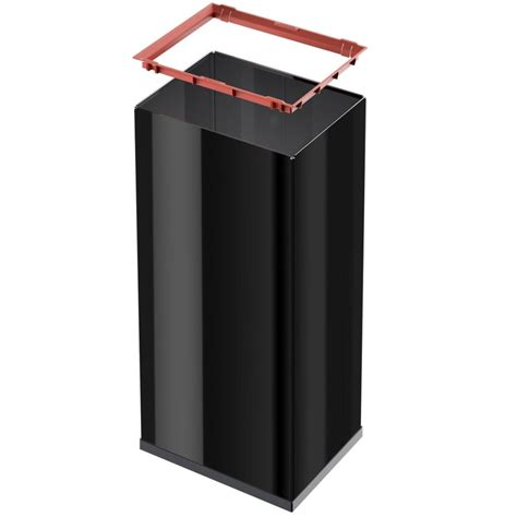 swing box hailo waste bin big box swing size xl 52 l black 0860 241