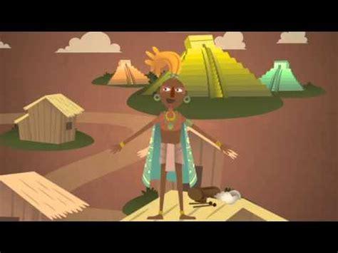 imagenes de los aztecas animadas los mayas en dibujos animados 2012 youtube