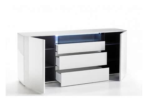 Meuble Tv Laque Blanc Brillant by Buffet Design Laqu 233 Blanc Brillant Cbc Meubles