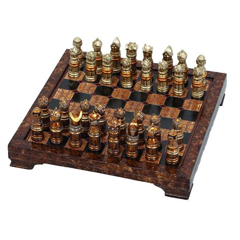 Chess Sets by Rosalind Wheeler Decorative Hosting Styled Chess Board Set
