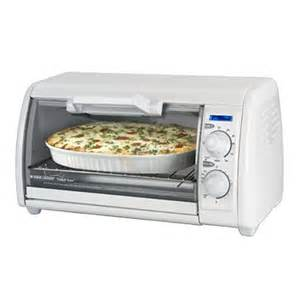 White Toaster Oven Black Decker Toast R Oven 4 Slice Countertop Toaster Oven