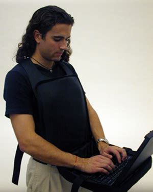 Wearable Laptop Desk Wearable Computer Desks Connect A Wearable Laptop Desk