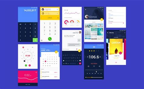 material design mockup kit 22 incredible adobe xd freebies for ui designers design