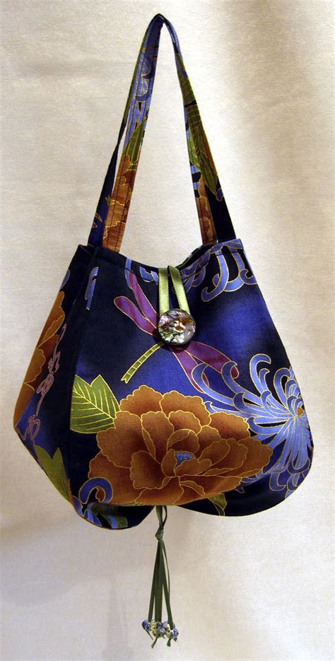 pattern fabric purse new purse pattern by lazy girl designs in asian fabric