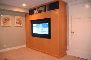 Murphy Bed Tv Cabinet Tv Wall Bed Home Theater Seattle