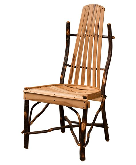 hickory log table chair amish direct furniture