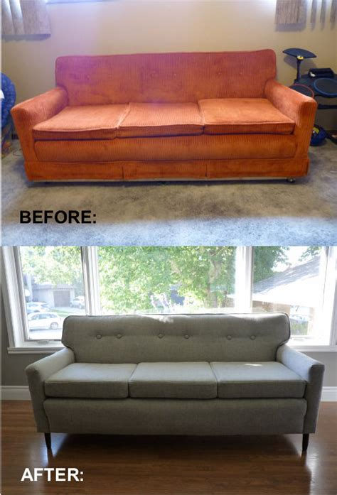 reupholstering a couch tutorial how to reupholster an old sofa a diy tutorial