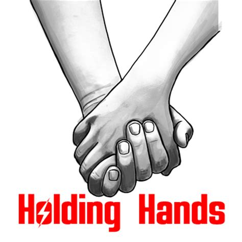 how to draw holding hands with easy step by step drawing