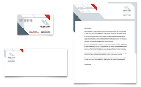 business consultancy letterhead template technology letterheads templates designs