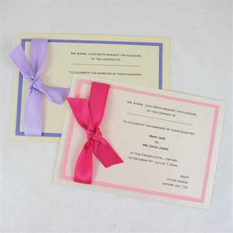 Make Your Own St For Wedding Invitations