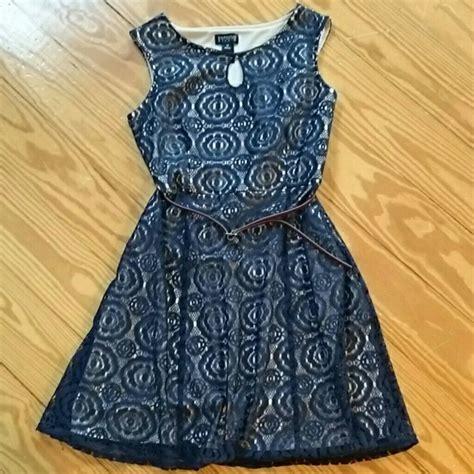 Enfocus Navy Dress enfocus studio dresses navy lace dress poshmark