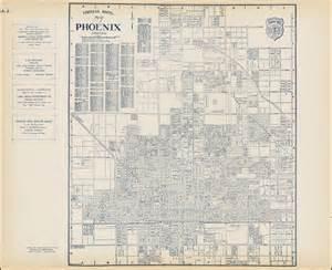 map of phoenix arizona barry lawrence ruderman antique