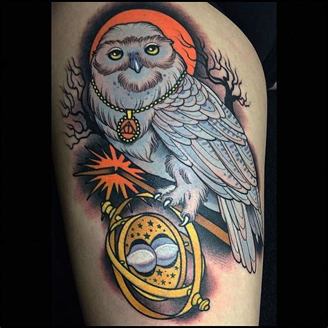 hedwig tattoo hedwig harry potter www pixshark images