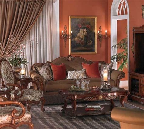 Michael Amini Living Room | michael amini cortina living room collection traditional