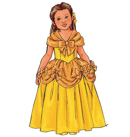 pattern for belle s yellow dress belle dress pattern sewing crafts pinterest