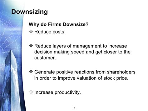 downsizing definition downsizing