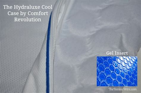 comfort revolution pillow case comfort revolution cooling pillow and cool case review