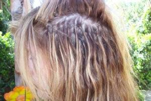 the damage of hair extensions